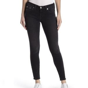 True Religion Halle Mid-Rise Super Skinny Jeans 27